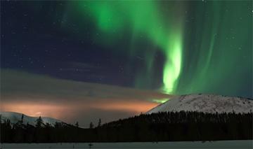 Auroras boreales Ylläs