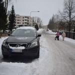 Coche nieve Finlandia