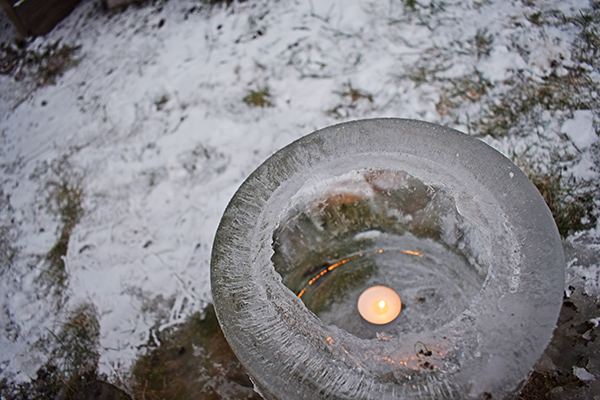Linterna de hielo