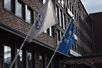 Bandera centenario Finlandia