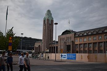 Estación central trenes Helsinki