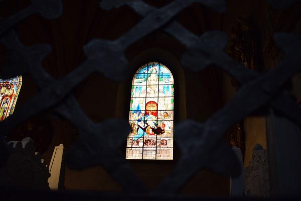 vidriera catedral Turku
