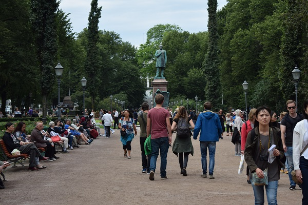 Esplanadi parque Helsinki