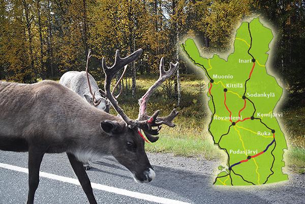 renos carretera Finlandia