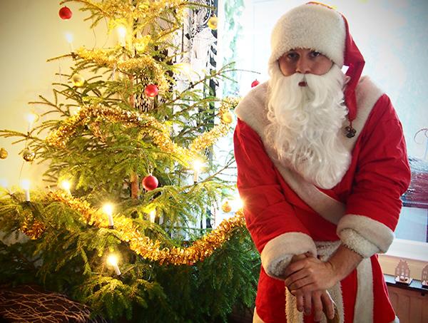¿Cómo es la Nochebuena para un Papá Noel? [Entrevista]