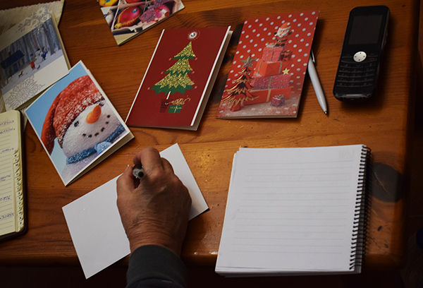 Postales navideñas finlandesas