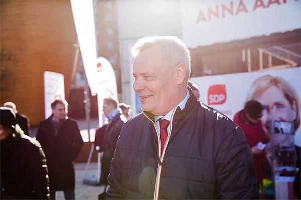 Antti Rinne SDP