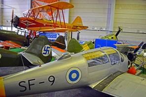 Aviones militares Finlandia museo