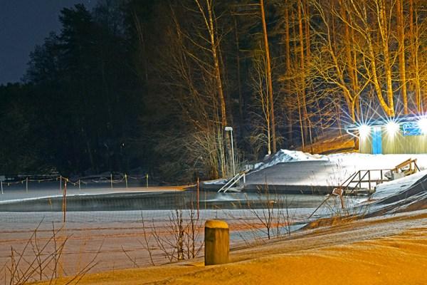 Avanto lago invierno