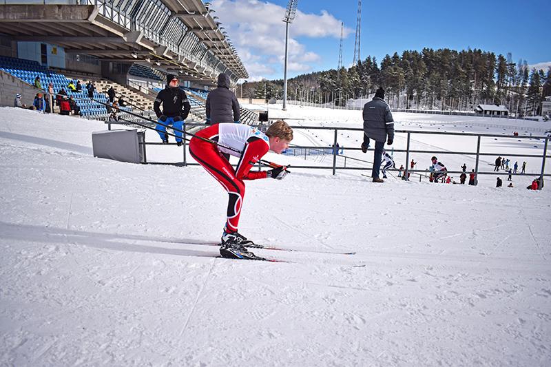 esquí invierno Lahti