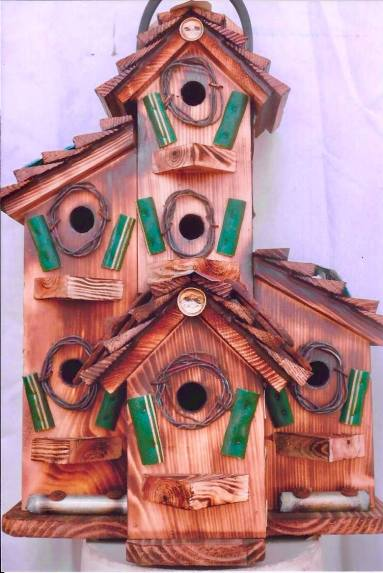 Rustic Productions – Seed Feeders and Birdhouses