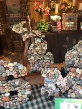 Wolverine Stoneworks – Stone-enhanced Frames, Mirrors, Vases, Drawer Pulls, Birdhouses