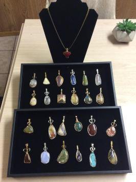 Jaden Gems & Lapidary – Wire Wrapped Gemstones and Jewelry, Earrings and Rings