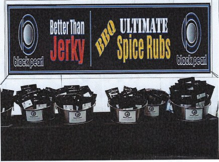 Black Pearl – BBQ Spice Rubs, Jerky, Chocolate covered Coffee beans and Almonds
