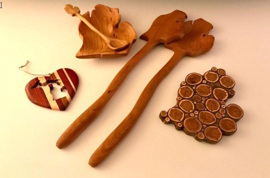 Wooden Wonders – Wooden Utensils, Gadgets, Ornaments, Keychains, Cardholders, Easels