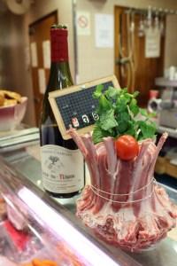 Vin et agneau, Michel Kalifa - Maison David ©