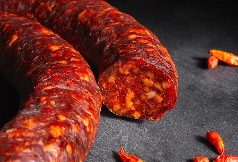 © Michel Kalifa - Maison David, Saucisse au piment d'espelette