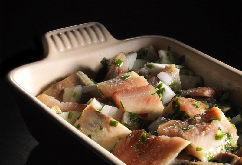 © Michel Kalifa - Maison David, Salade de harengs à la polonaise