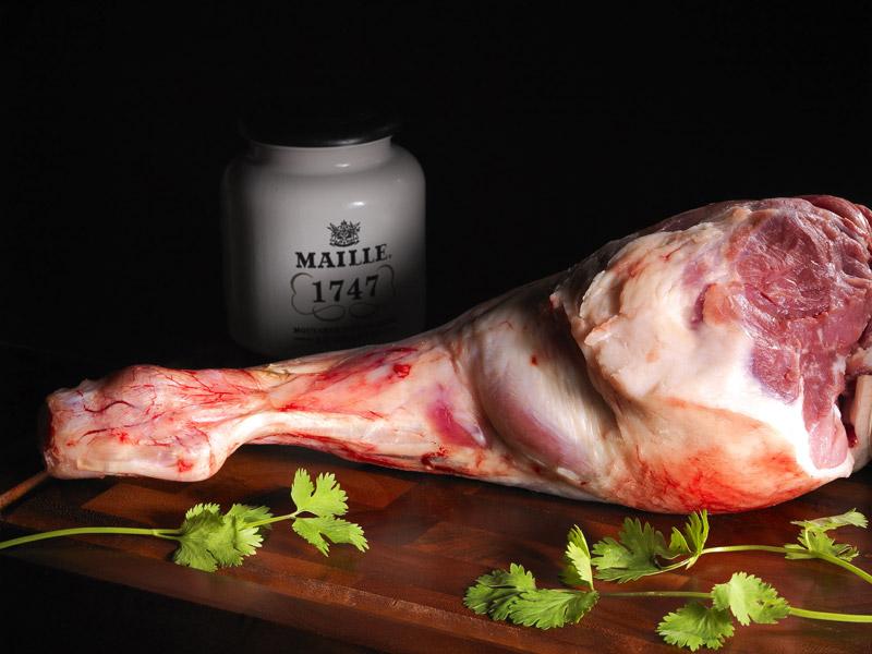 © Michel Kalifa - Maison David, Gigot d'agneau de lait