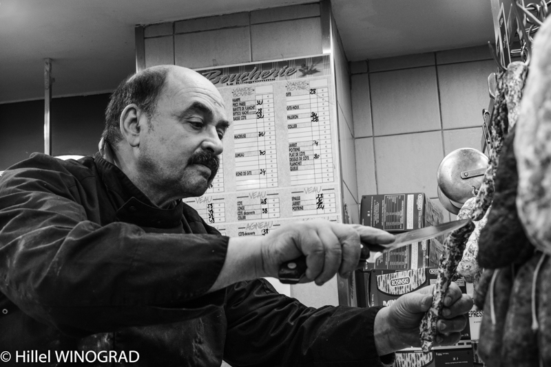 Michel Kalifa, maître charcutier, Michel Kalifa-Maison David, Hillel Winograd ©