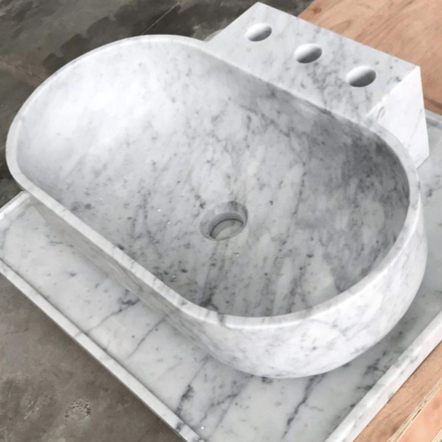 Badgestaltung Naturstein Michelangelo