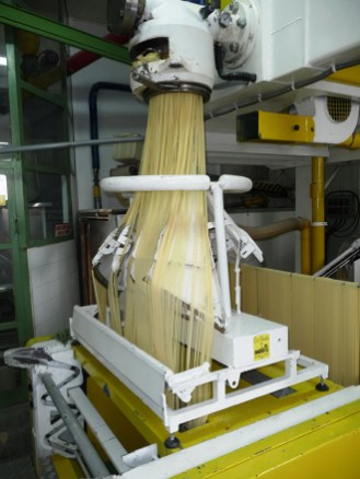 Pasta factory tour in Lari
