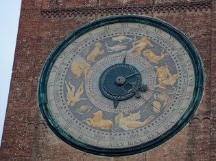 Astronomical Clock of Cremona's Bell Tower Torrazzo