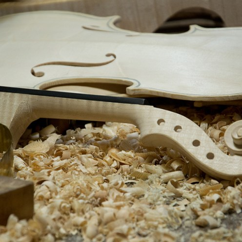 The process of violin-making