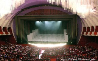Concert hall of the Royal Theatre, the teatro Regio in Turin - Piedmont