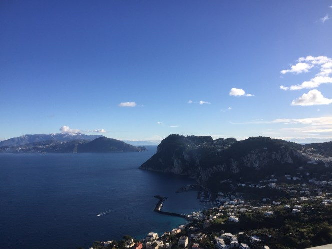 The Island of Capri is one of the most picturesque and visited locations in Campania