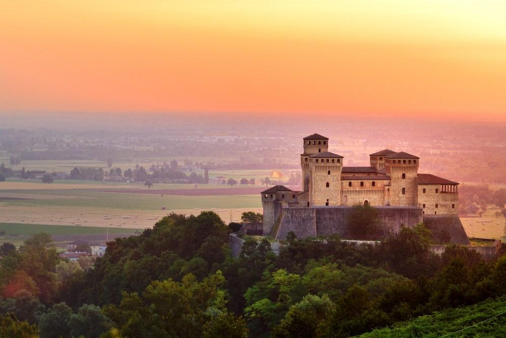 Emilia Romagna   Medieval castle