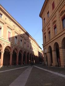 Red city Bologna