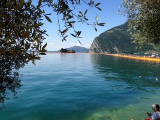 The Floating Piers, Christo art work Lake Iseo