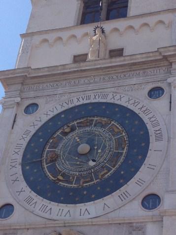 Clock tower at Piazza dei Signori