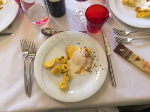 Lunch at Hosteria 700 in Cremona