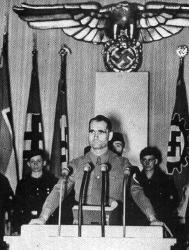 Rudolph Hess,un membre important et un homme de confiance du Führer...jusqu'au vol de l'aigle.