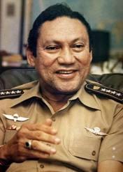 Manuel Noriega,l'ancien premier de classe de la CIA va devenir un bouc émissaire.
