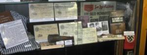C'est dans un musée dédié à la fausse monnaie que l'on retrouve une partie de la monnaie fabriquée par les services des SS.