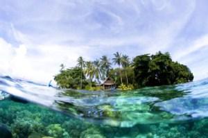Ce ne sont pas les îles qui coulent,mais bien l'océan Pacifique qui voit son  niveau s'élever davantage.
