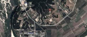 La centrale nucléaire en question...vue  de l'espace.