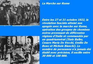La marcia di Roma  28 octobre 1922bbb