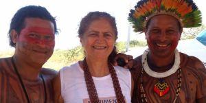 Antonia Melo,je lui souhaite de réussir à bloquer le projet de Belo Monte.