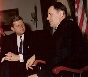 Première rencontre avec le ministre soviétique des Affaires étrangères, Andreï Gromyko.