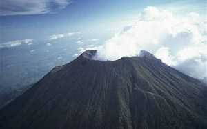 Photo aérienne du San Miguel ,il y a quelques semaines.