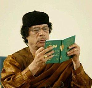 Le Grand Guide  Socialiste du Peuple Lybien:Muhammar Kadhafi