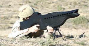 L'arme nouvelle...
