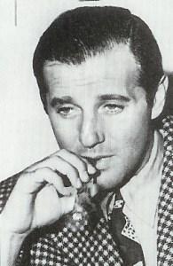 """Benjamin """"Bugsy"""" Siegel aimait les cigares et se donner un air  d'homme d'affaires respectable."""