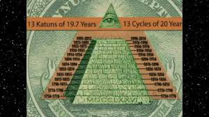 Logo illuminati connu:pyramide.