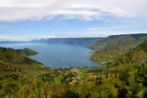 Lac Toba actuel