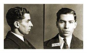 Lucky Luciano en 1923.